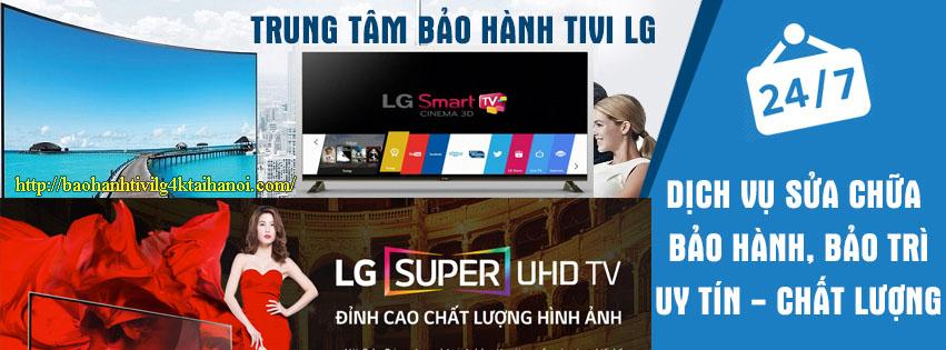 bảo hành tivi LG